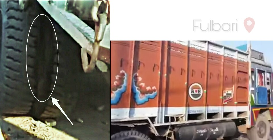 Fulbari Truck Killed 2 person