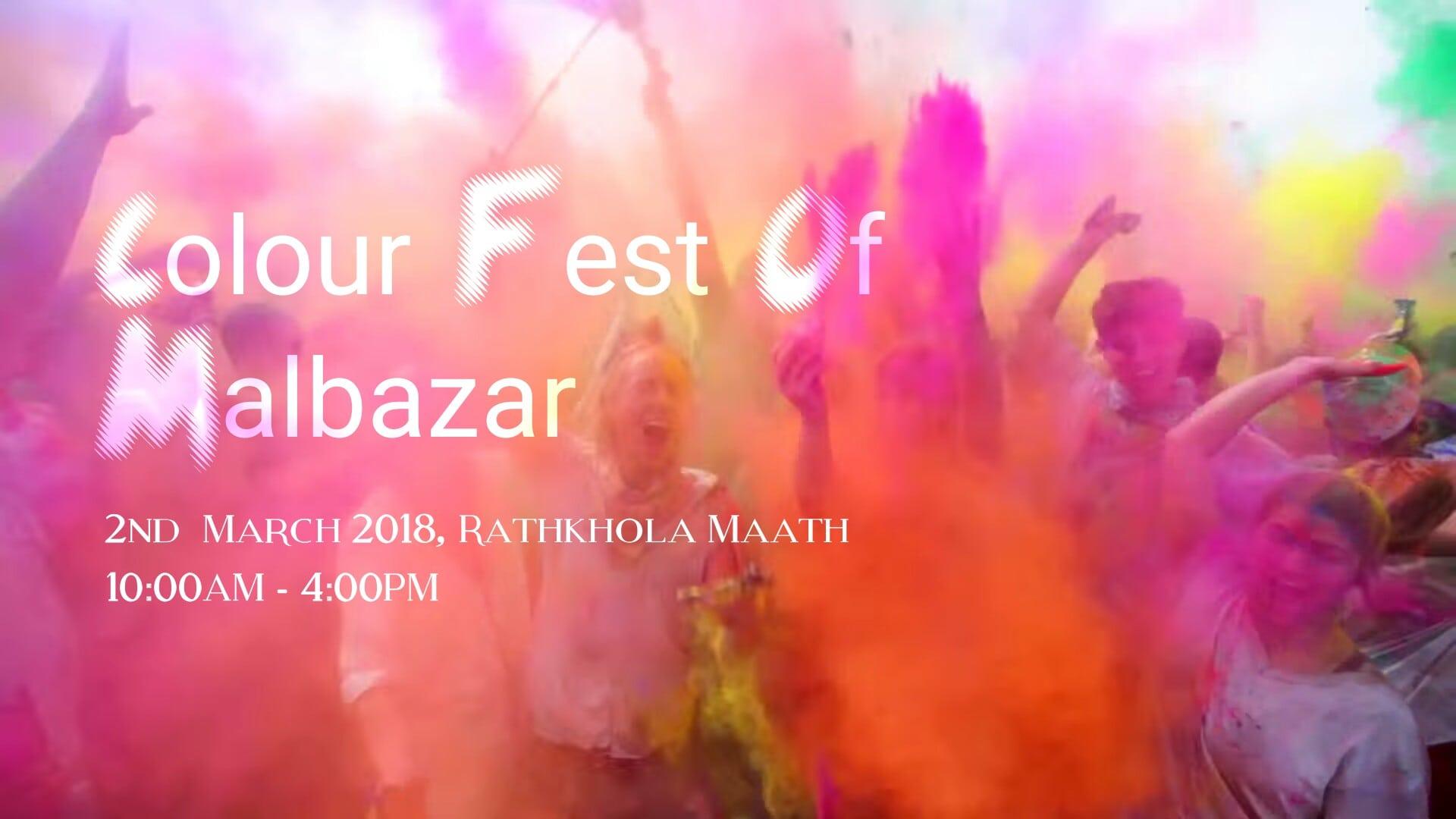 Colour Fest 2018 Malbazar