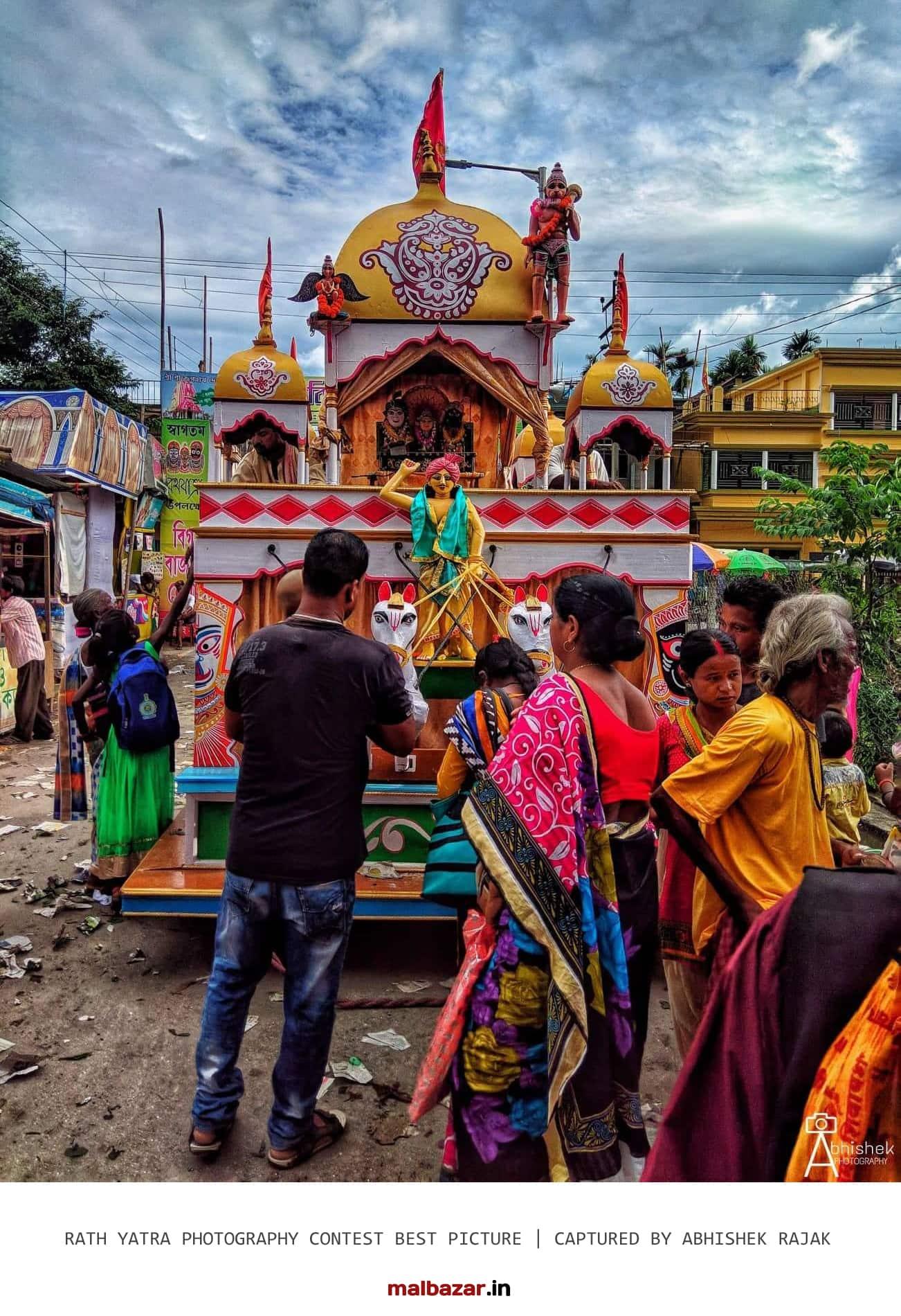 Rath Yatra in Malbazar 2018 by Abhishek RajaK