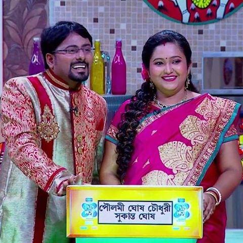 Sukanta & Poulami in Didi No. 1 show