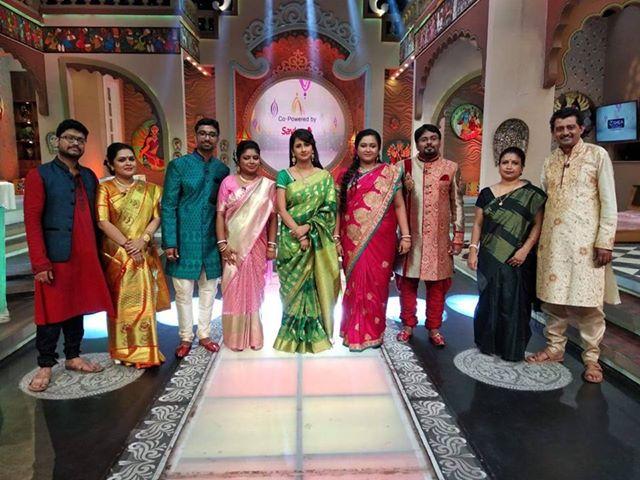 Sukanta and Poulami in Didi No. 1 show