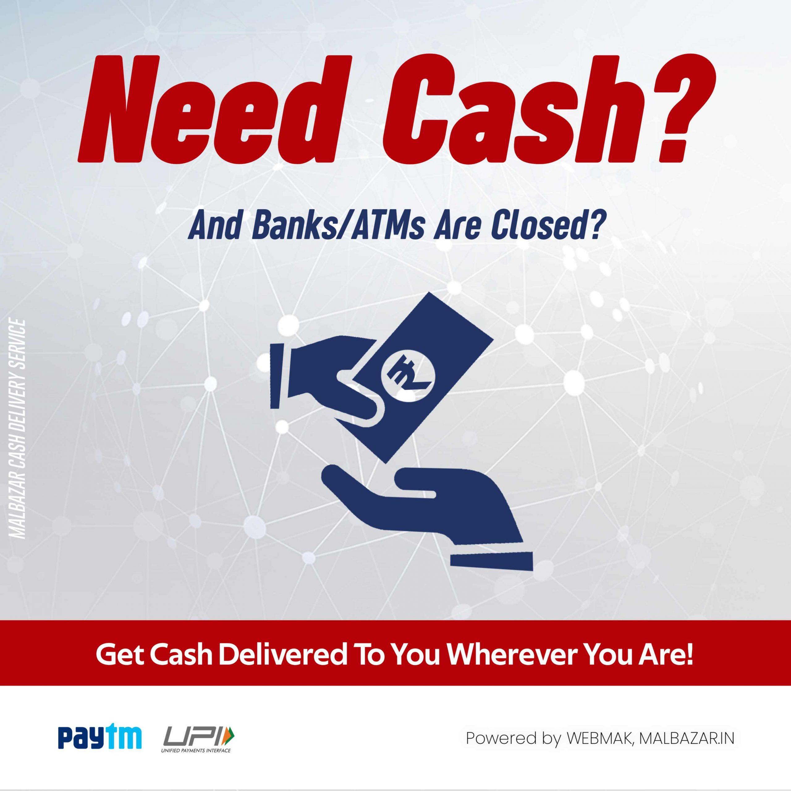 Malbazar Cash Delivery Service